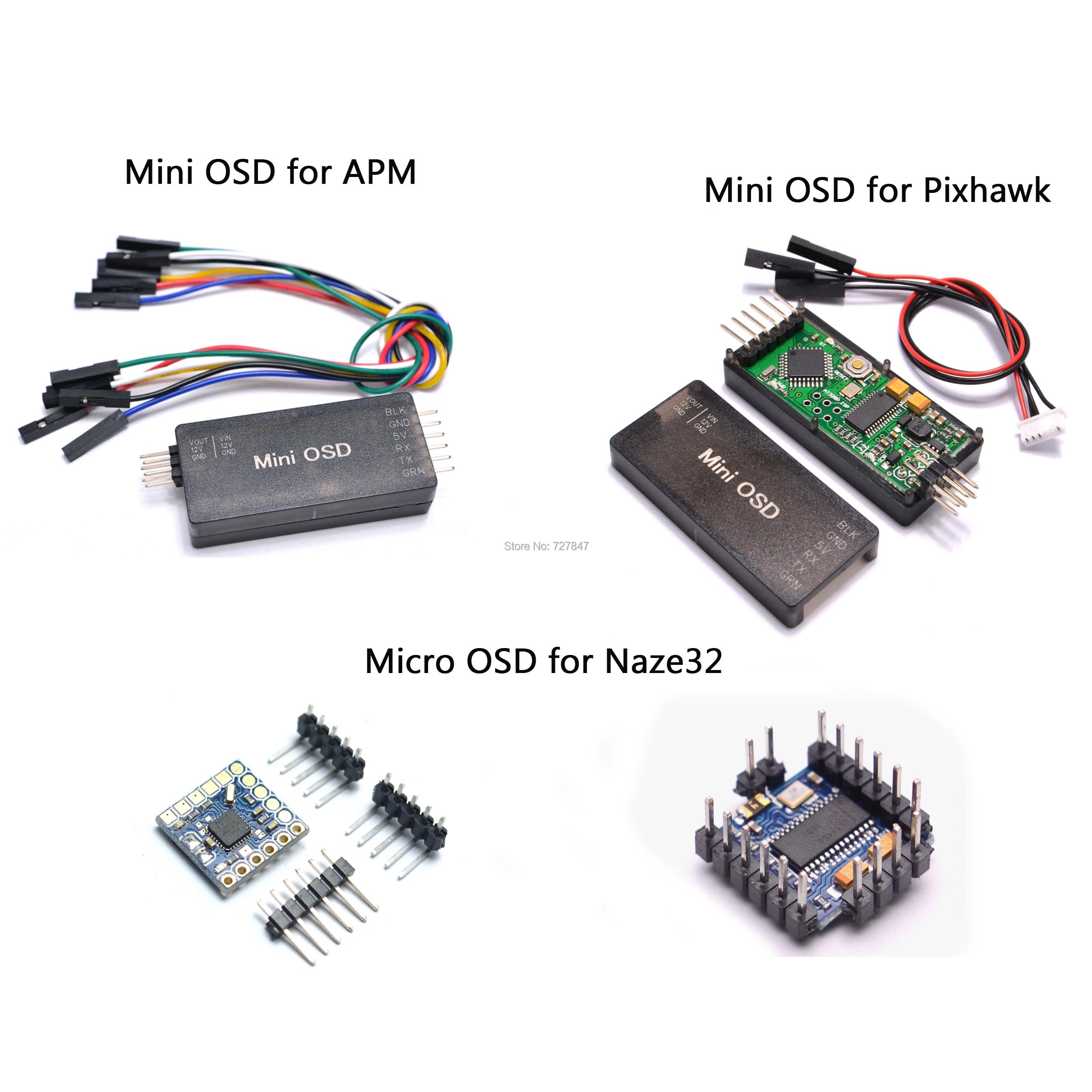 MICRO MINIMOSD Minim OSD Mini OSD для квадрокоптера, мультикоптера, APM / PIXHAWK/NAZE32, управление полетом