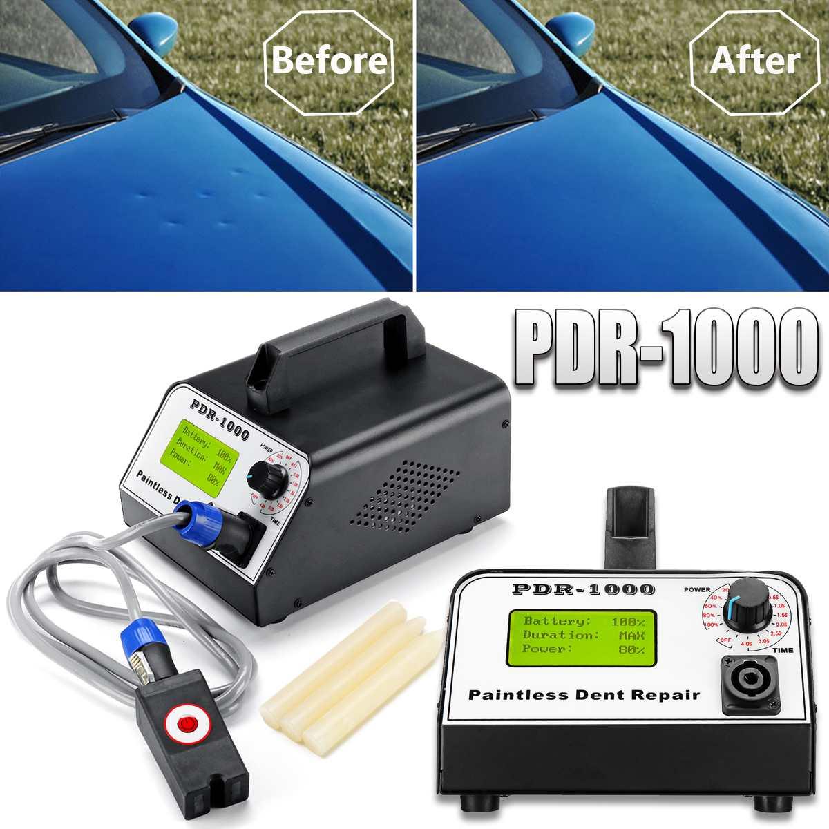 Aquecedor de indução Carro Paintless Dent Reparação Dent Removedor para Remover Caixa Quente 220 V 1000 W Folha de Reparo Do Corpo Do Carro conjunto de Ferramentas De metal