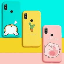 Silicone Case For Xiaomi Redmi Note 6 Pro Cute Full Case For Xiaomi Redmi Note 5 7 6A Mi A2 Lite Shockproof Bumper Coques Funda все цены