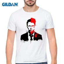 GILDAN summer clothes men Fight Club t shrit tops tees O-Neck The fashion Casual Cartoon Man shirts mens short sleeve shirt