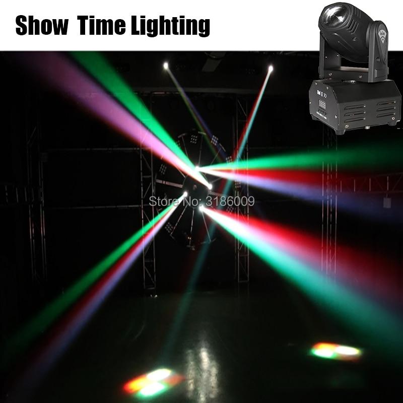 10W RGBW Mini Led beam moving head 10W spot wash RGBW 4 In 1 stage effect DMX 512 Control KTV DJ Party lite home entertain