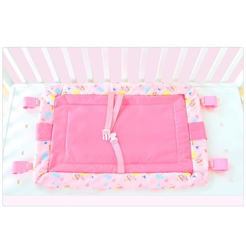 Table à langer pour bébé ceinture de sécurité pliable confortable Table d'allaitement pour bébé housse de matelas à langer
