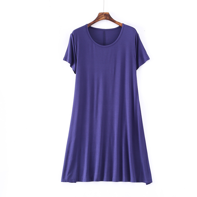 Women 39 s Sexy Summer Dresses Casual O neck Short Sleeve Solid Midi Dress Loose Sundress Vestido De Festa in Dresses from Women 39 s Clothing