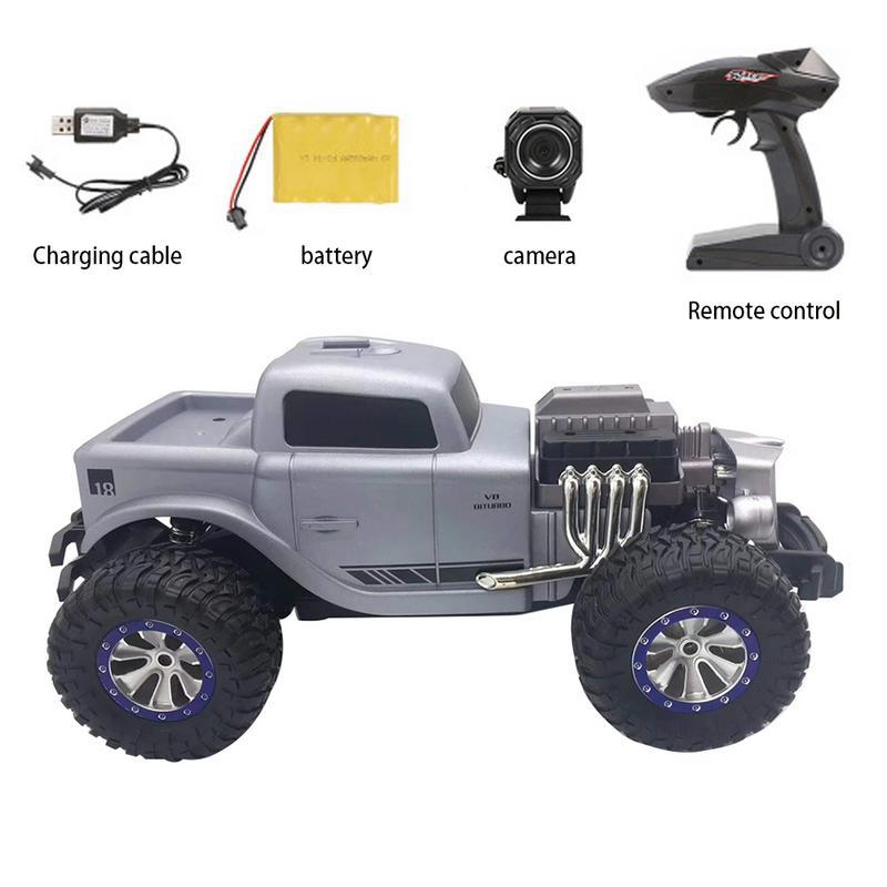 1:16 RC escalade voiture Mini 2.4G 4WD tout-terrain RC voitures tout-terrain course voiture RC véhicules RTR cadeau jouet classique voiture moule jouets