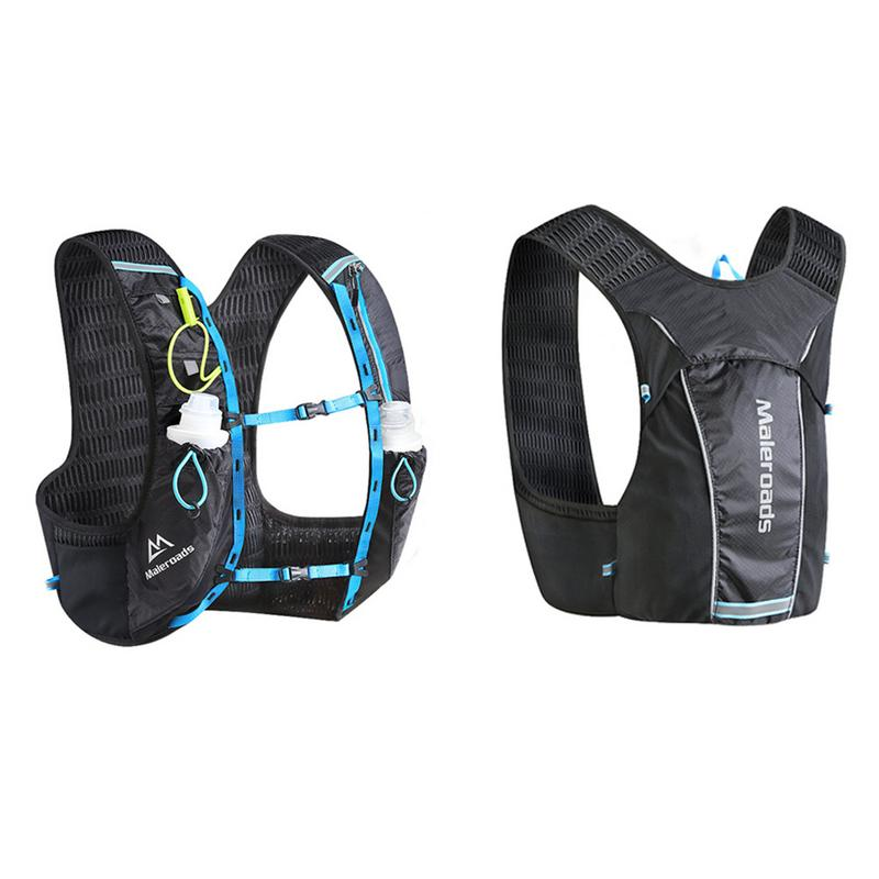 Marathon Cross-country sac à dos équitation gilet sac confortable respirant course gilet sac détachable sangle de poitrine sac de sport