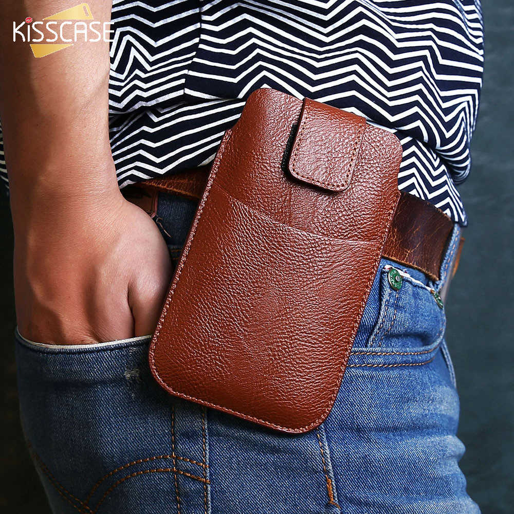 Kisscase Vintage Funda De Cuero Para IPhone 7 6 6 S Samsung
