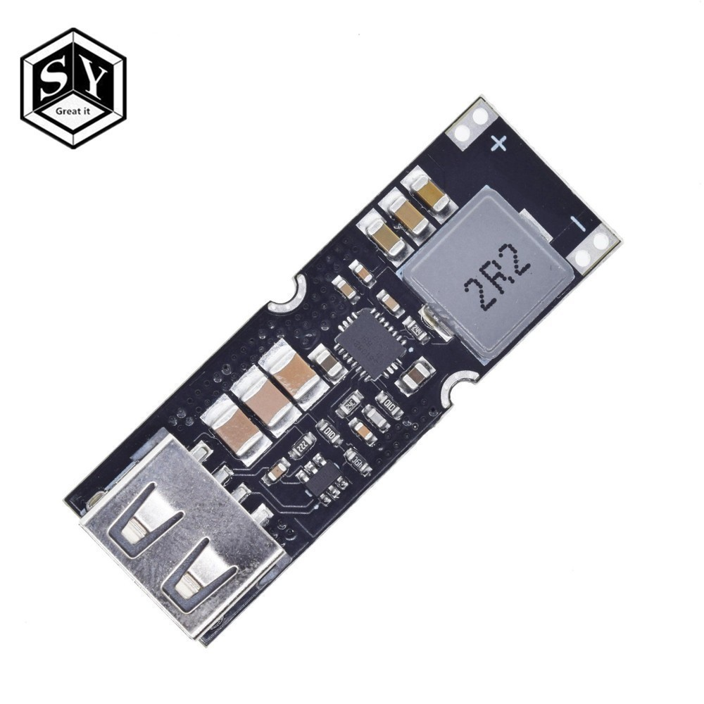 Single Cell Lithium Battery Boost Power Module Board 3.7V 4.2V Liter 5V 9V 12V USB Mobile Phone Fast Charge QC2.0 QC3.0 TPS61088 image