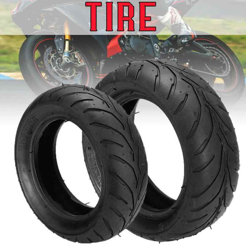 Motorcycle Tires Front Rear Tire + Inner Tube 110/50/6.5 90/65/6.5 For 47cc 49cc Mini Pocket Bike Durable Thick Wheel