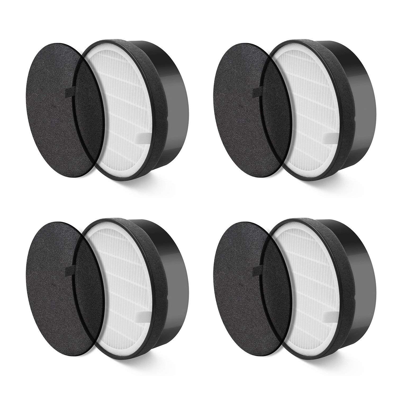 Purificateur d'air LV H132 4 Pack filtre de remplacement fin préliminaire|Pièces de purificateur d'air| |  -
