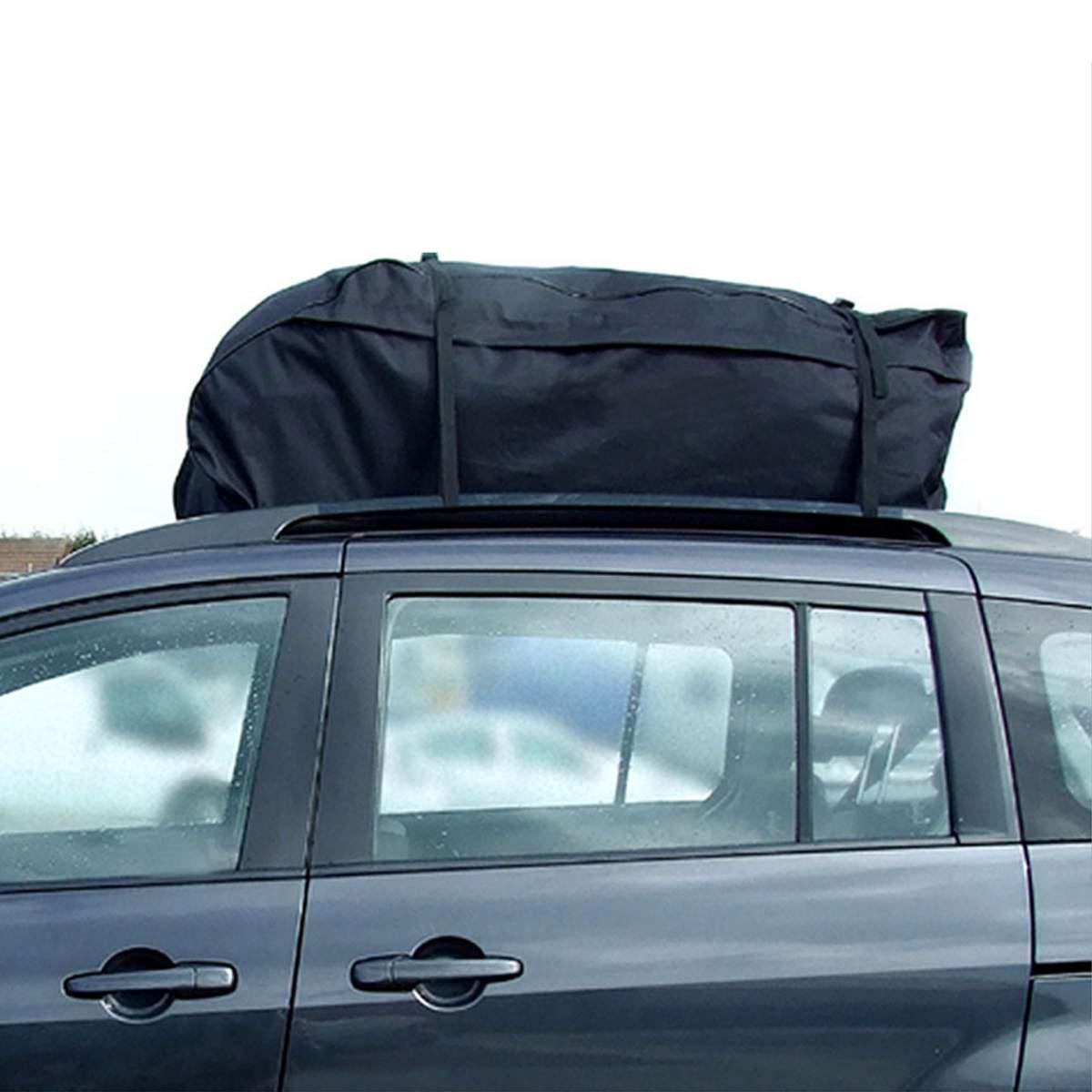 130X100X45 cm sac de toit de voiture sac de toit supérieur porte-bagages transporteur de bagages voyage étanche Touring SUV Van pour les voitures - 3