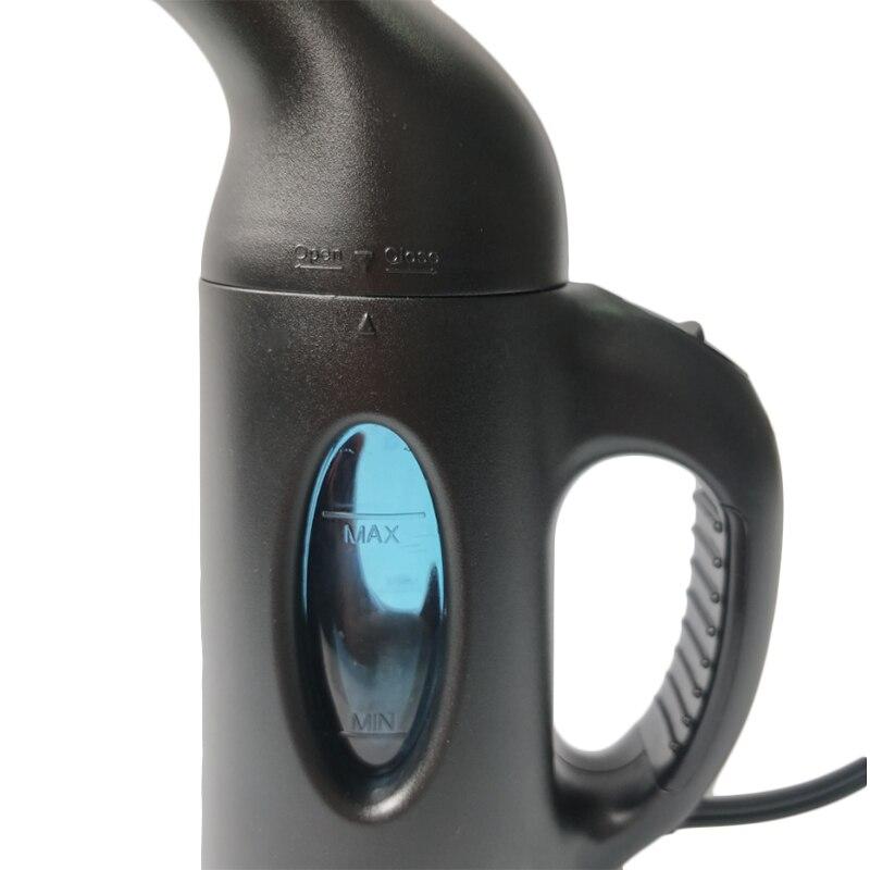 Горячая ЕС Plug 850 W/60Hz компактный паровой утюг ручной щётка для сухой чистки одежда Бытовая техника портативный паровой утюжок для одежды-черный