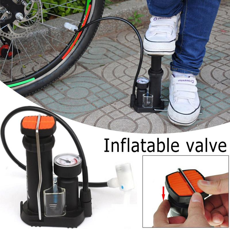 Outdoor Sports Cycling Bike Portable Mini Bicycle Aluminum High-pressure Pumps