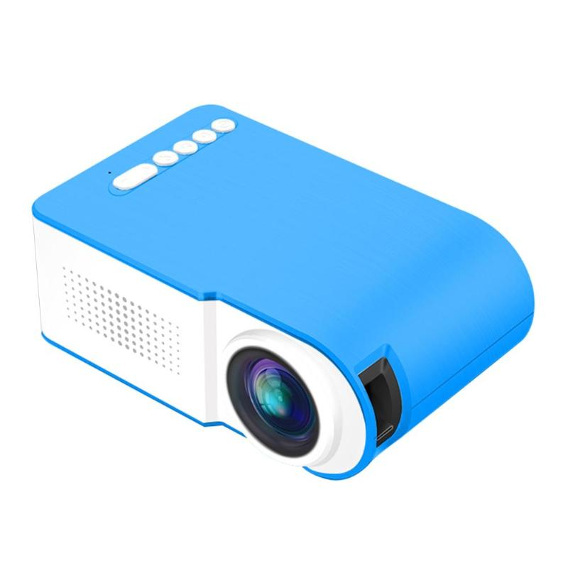 YG210 Mini Portable Projector Video Digital HD 1080P LCD 18W Energy Saving Projectors for Home Cinema Theater Beamer