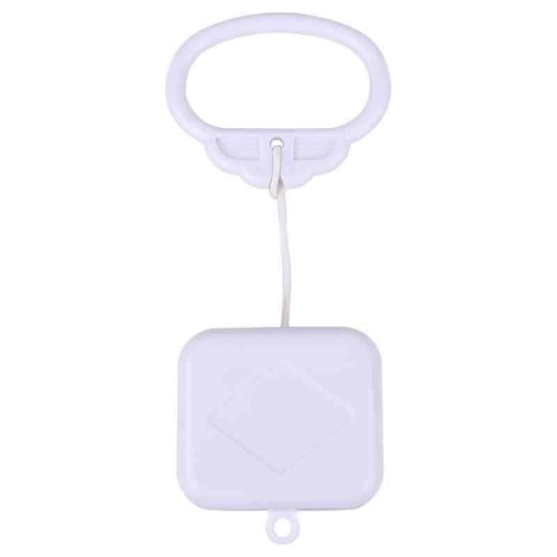 Caixa de música do bebê rotativo móvel berço cama movimento clockwork móvel musical recém-nascido sino berço titular braço suporte vento-up chocalho brinquedos