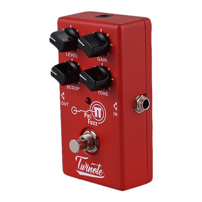 twinote fuzz guitar effect pedal modern fuzz effects pedal sound guitar pedal in guitar parts. Black Bedroom Furniture Sets. Home Design Ideas