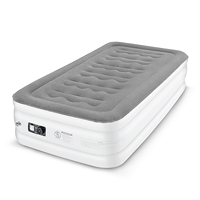 Twin Size Air Mattress Electric Inflatable Airbed Bed Bedroom Furniture