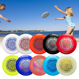10.7 Inch 175g Plastic Cartoon Ultimate Disc Throw and Catch Flying Disc Children's Adult Outdoor Sports Beach Flying Sport Disc