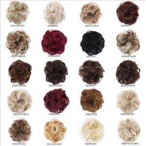Image 5 - Кудрявые нечистоплотные волосы в пучок, накладные волосы, настоящие как человеческие искусственные волосы