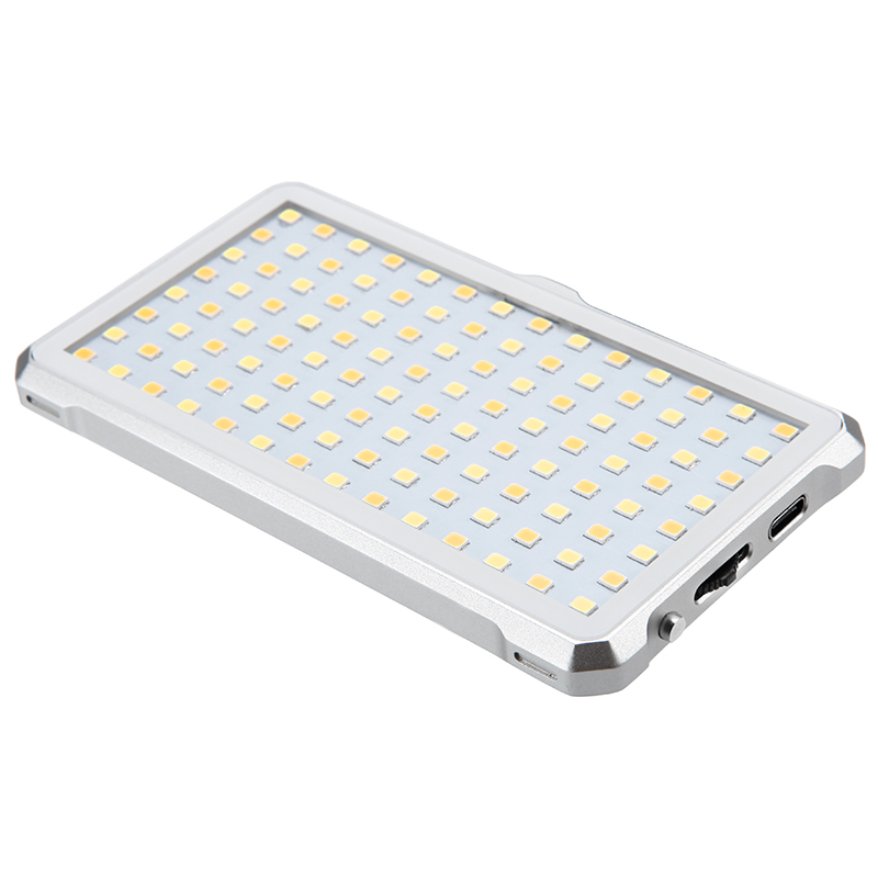 Photo Studio Video LED Light 9W 112pcs lamp beads Aluminum Alloy Bi Color 3200K 5600K Color rendering Ra gt 96 Photography Lighting in Photographic Lighting from Consumer Electronics