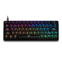 Mechanical Gaming Keyboard Geek GK64 64 Key Gateron Switch Hot Swappable CIY Switch RGB Backlit for Win XP/7/8/10 For Mac OS