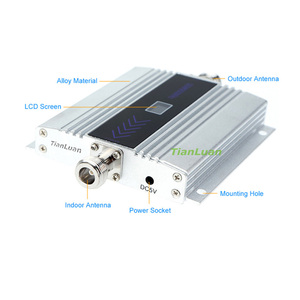 Image 3 - TianLuan Mini GSM 900MHz Mobile Phone Signal Booster 2G GSM Signal Repeater with Yagi Antenna / Ceiling Antenna / 15m 5m Cable