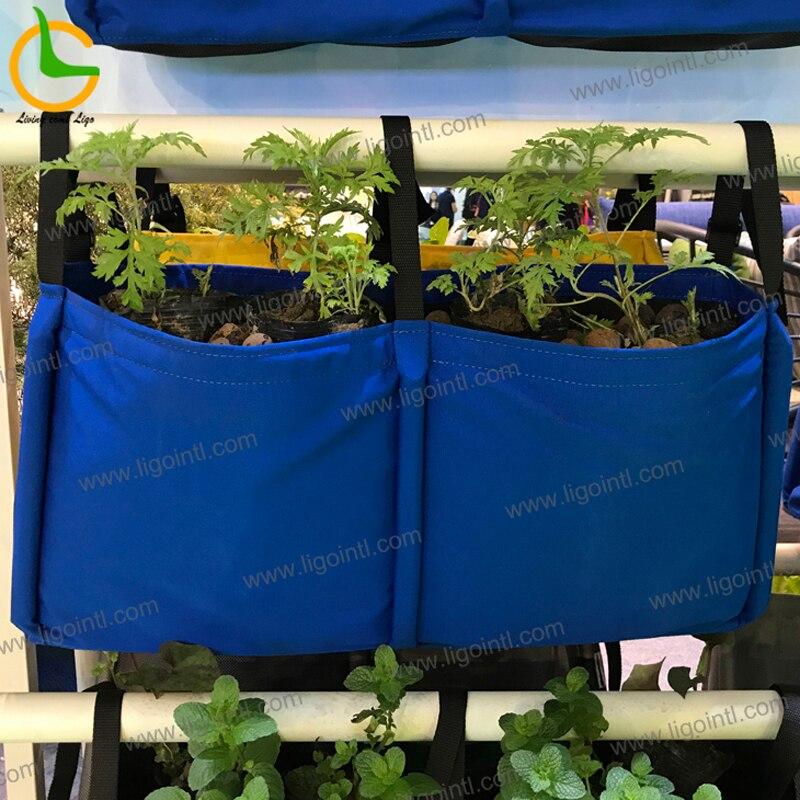 Декоративный домашний сад самополивающаяся прямоугольный из ткани цветочные горшки кашпо сад