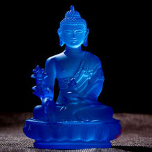 Buddha Medicine Figure Statue Altar Buddhist Resin Fengshui