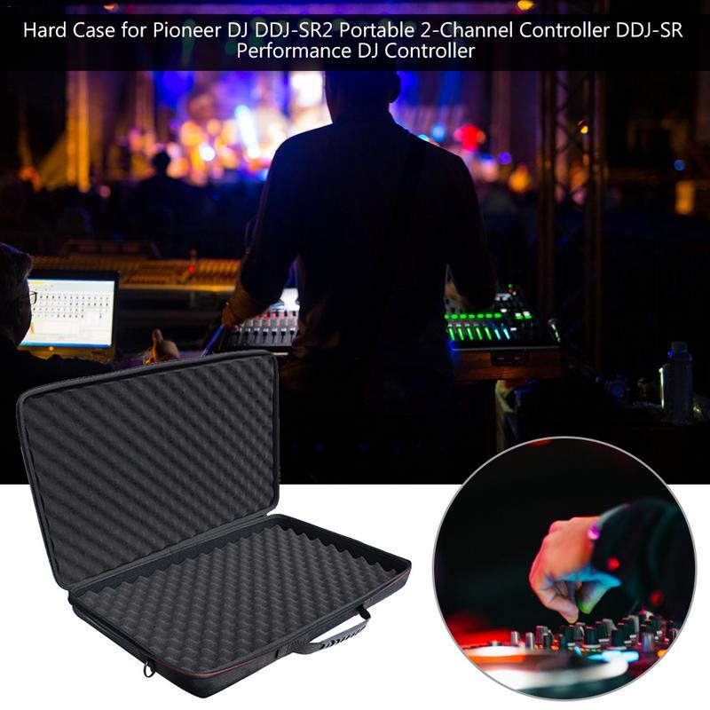 Nouvel étui rigide antichoc pour Pioneer DJ DDJ-SR2 contrôleur 2 canaux Portable DDJ-SR contrôleur DJ de haute qualité