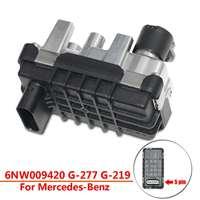 Привод турбонагнетателя 6NW009420 G 277 G 219 хайла клапан турбо для автоматического Mercedes Benz Запчасти для Авто Металл + Пластик