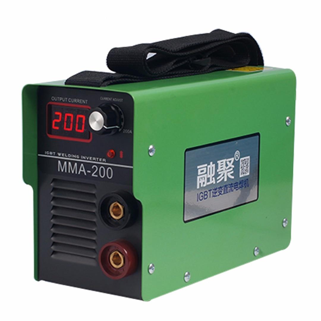 Le plus nouveau MMA-200 Potrtable 220 V Machine de soudage électrique soudure onduleur Machine à ARC