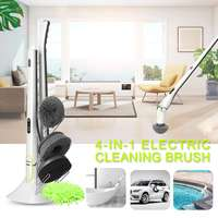 1Set Electric Cleaning Brush Cleaner Home Sweeping Dust Sterilize Smart Washing Mopping for Car Bathroom Kitchen Cleaning Tools