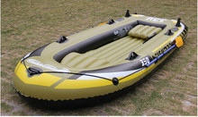 Water Sport Rowing Fishing Boat With Pump Inflatable Rubber