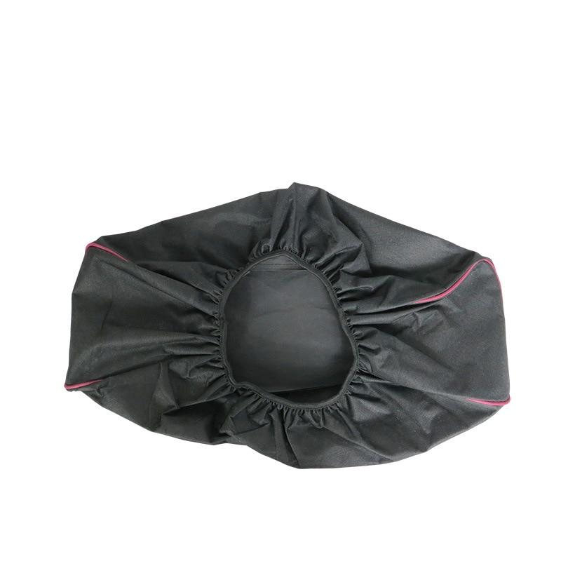 56x24x18 ซม. สีดำกันน้ำ Soft Winch Cover Mildew - Resistant UV รถ 600D Oxford ผ้า driver Recovery