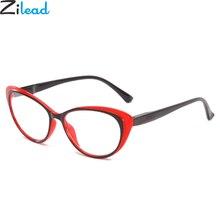Zilead Retro Cat Eyes Reading Glasses For Women&Men Clear Lens Spectacles Presbyopia Eyewear+1.0+1.5+2.0+2.5+3.0+3.54.0