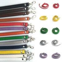 Bolso de mano ajustable para mujer, Asa artesanal, correa de cuero PU, cinturones, hebilla, accesorios para bolso de hombro, correas largas