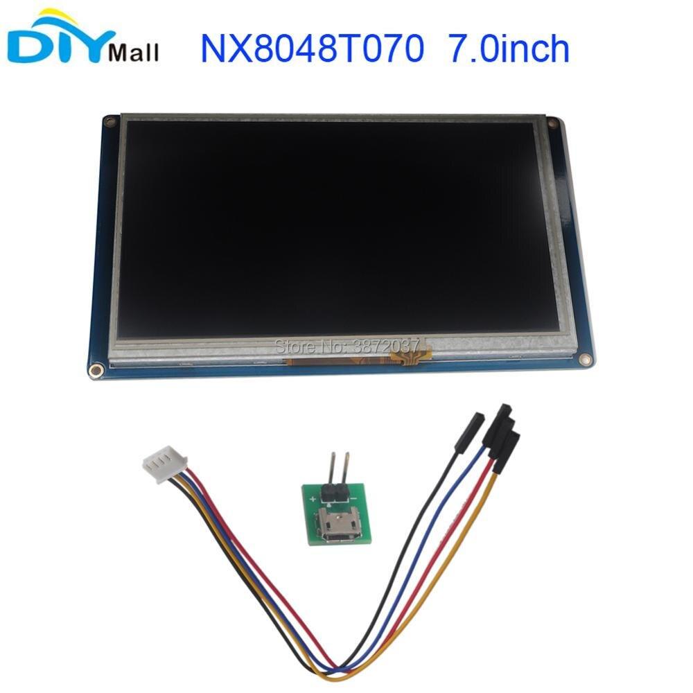 Nextion 7.0 TFT 800x480 NX8048T070 HMI résistif écran tactile UART Module d'affichage intelligent pour Arduino Raspberry Pi ESP8266