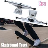 Hot Sale 2 Pcs 5.5inch Adult Skateboard Truck INDEPENDENT Skateboard 139 Truck High Quality Aluminum Magnesium Alloy Truck