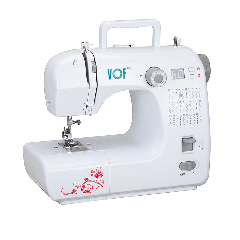 Fhsm 40 Domestic Multi Purpose Sewing Machine Zigzag Button Hole Adorable Table Top Sewing Machine