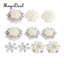 Buy rhinestone embellishment flatback buttons and get free shipping ... 275112f46b11