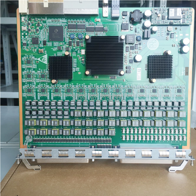 Carte d'origine Huawei VCLE H83D00VCLE02 VCLE 32 canaux VDSL2 (avec séparateur 600 ohms) pour Huawei MA5616 MA5818 OLT