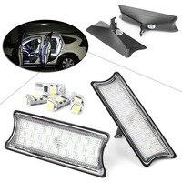 Car Auto Front Rear LED Interior Dome Light Roof Lamp Kit For BMW E60 E65  E87