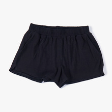2019 Cotton Women Pants Girls Pajamas Shorts Elastic Band Sleepwear Short Loose Solid Summer Loungewear Teenage Sleep