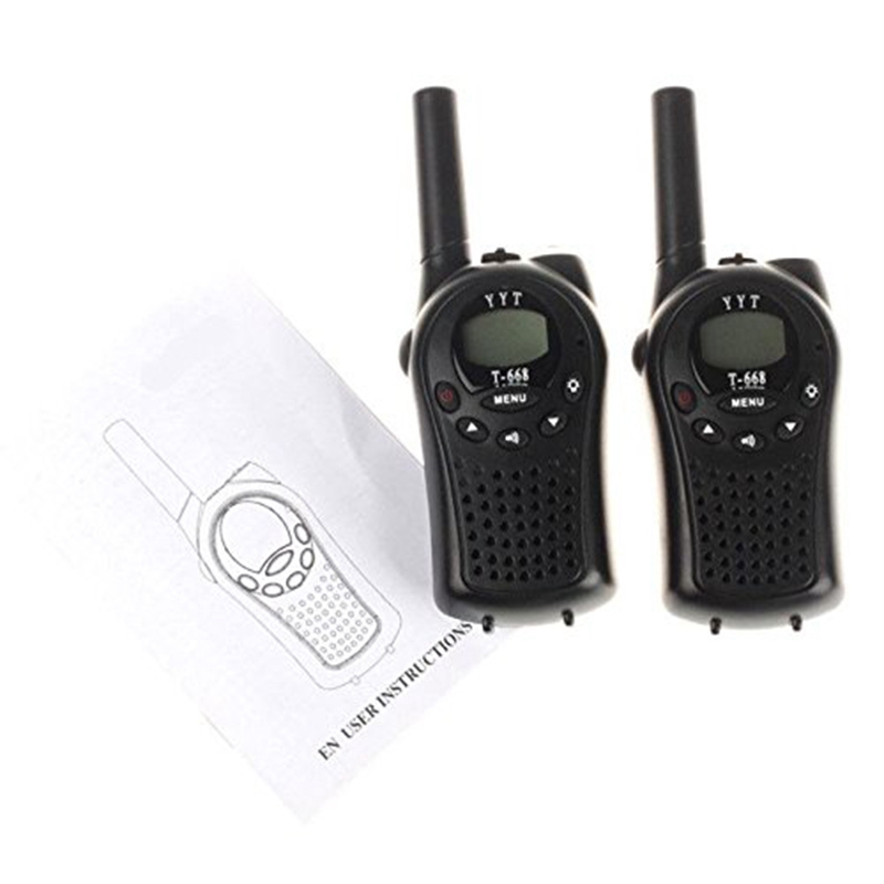 Image 3 - Two Way Radio Walkie Talkie 2 Pieces T 668 Handheld Auto Multi Channel 5KM-in Walkie Talkie from Cellphones & Telecommunications