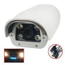 CWH 2MP ONVIF IP LPR Camera 1080P ANPR Car Camera 6-22mm Lens with Leds Waterproof IP66 Use for Road Park Entrance Exit CW1D6(China)