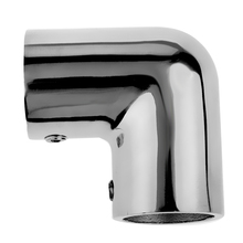 316 Stainless Steel Boat Hand Rail Fitting 90 Degree Elbow Tube Mount Maximum Corrosion Resistance Durability