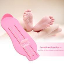 Регулируемая детская измерительная шкала для ног, размер обуви, шкала длины стопы для детей, точные весы, новая запись длины стопы
