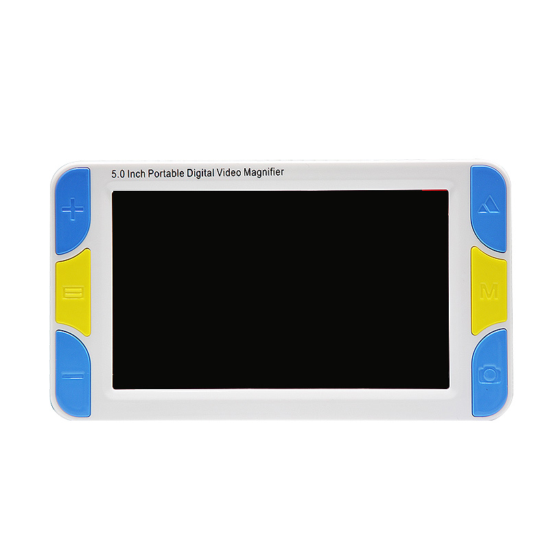 5 Inch Screen Portable Digital Magnifier Low Vision Electronic Visual Aids Video Microscope 4x To 32x Ys500(UK Plug)|Display Screen| |  - title=