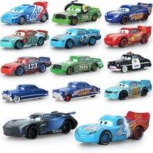 Купить с кэшбэком Disney Pixar 14 Style  New McQueen Jackson Storm Metal Car Model Birthday Gift Toy For Kid Boy baby toys newborn Flash sale