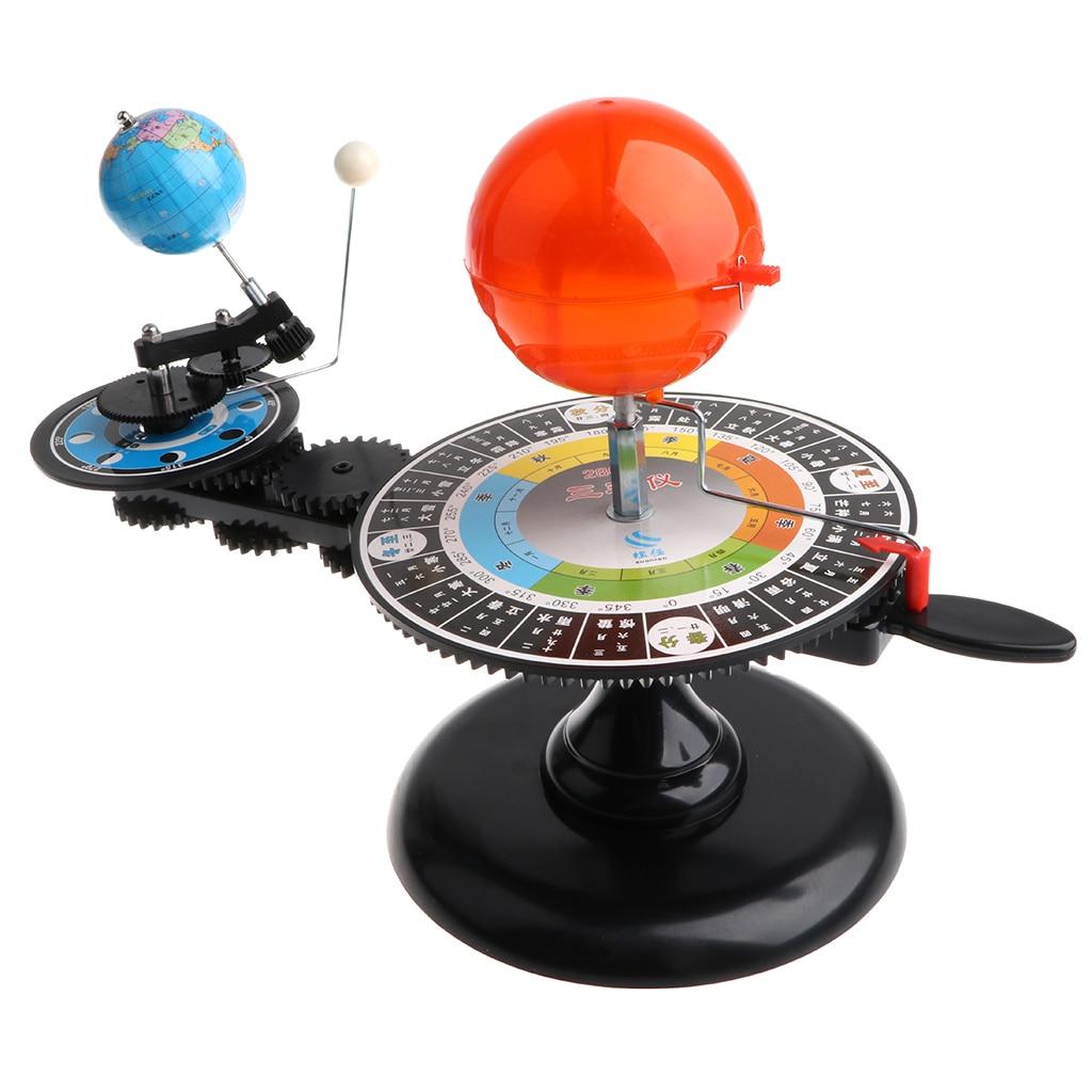 Sun Earth Moon Orbital Planetarium Diy Model Kids