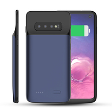 TORUBIA For Samsung Galaxy S10 Battery Charger Case 5000mAh External Backup PowerBank Charging Battery Case For Samsung S10 Case